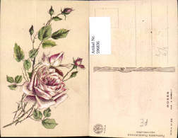 596836,Künstler Ak A. Renault Roses Rosa Rosen Blumen - Ohne Zuordnung