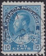 Canada  .  Scott     .      117        .      O    .  Cancelled  .   /    .  Gebruikt - 1911-1935 Regering Van George V