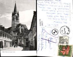 596571,Hermannstadt Sibiu Vedere Din Orasul De Jos Kirche Romania - Rumänien