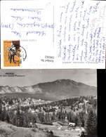 596562,Predeal Vedere Spre Masivul Postavarul Romania - Rumänien