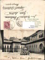 596549,Granada Alhambra Vista General Del Patio De Los Leones Brunnen Spain - Spanien