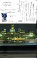 596544,Madrid Palast B. Nacht Auto Brunnen Springbrunnen Spain - Spanien