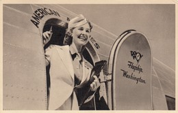AMERICAN AIRLINES Stewardress , 1941 - 1939-1945: 2ème Guerre