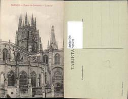 596539,Burgos Puerta De Pellejeria Catedral Kathedrale Kirche Spain - Spanien