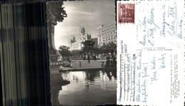 596537,Foto Ak Madrid Ministero Marina Y Palacio Comunicaciones Brunnen Spain - Spanien