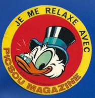 A.C. PICSOU MAGAZINE - Autocollants