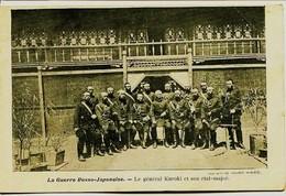 12592  Japon  La Guerre Russo - Japonaise. -  LE  GENERAL  JAPONAIS  KUROKI  ET SON ETAT MAJOR - Autres