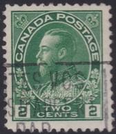 Canada  .  Scott     .      107a        .      O    .  Cancelled  .   /    .  Gebruikt - 1911-1935 Regering Van George V