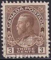 Canada  .  Scott     .      108b        .      O    .  Cancelled  .   /    .  Gebruikt - 1911-1935 Regering Van George V