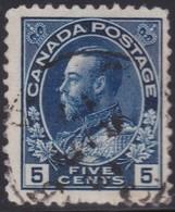 Canada  .  Scott     .      111a        .      O    .  Cancelled  .   /    .  Gebruikt - 1911-1935 Regering Van George V