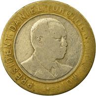 Monnaie, Kenya, 10 Shillings, 1994, British Royal Mint, TTB, Bi-Metallic, KM:27 - Kenya