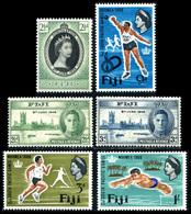 1946-1966 Fiji Stamp Lot (6) - Fiji (...-1970)