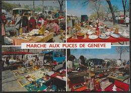 CPM Neuve GENEVE . Marché Aux Puces De Genève. Plaine De Plainpalais. - GE Geneva