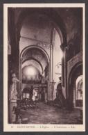 101012/ SAINT-SEVER, L'église, Intérieur - Saint Sever