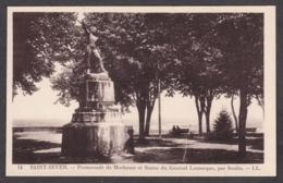 101015/ SAINT-SEVER, Promenade De Morlanne Et Statue Du Général Lamarque, Pas Soulès - Saint Sever