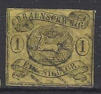 Brunswik 07 Usado. 1853 - Braunschweig