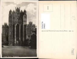 594893,Foto Ak Kloster Chorin Westgiebel - Deutschland