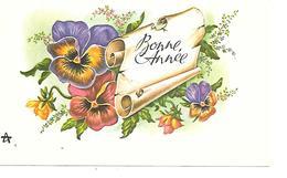 BONNE ANNEE MIGNONNETTE FORMAT 8X13 CM - Nouvel An