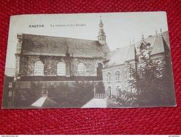 MARCHE EN FAMENNE  -  Le Casino Et Les Ecoles  -  1912 - Marche-en-Famenne