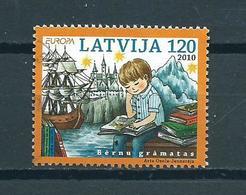 2010 Letland Europe,children Books 120 Used/gebruikt/oblitere - Letland