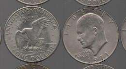USA - 1 Dolar  Eisenhower 1971 - Emissioni Federali
