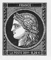 FRANCE Année 2019 170 Ans Du Premier Timbre-poste Français CÉRÈS . - Unused Stamps