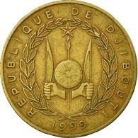 Monnaie, Djibouti, 20 Francs, 1999, Paris, TB, Aluminum-Bronze, KM:24 - Djibouti