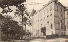 D06 NICE  Hôtel Des Palmiers - Cafés, Hôtels, Restaurants