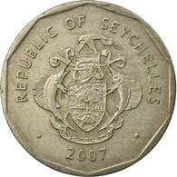 Monnaie, Seychelles, 5 Rupees, 2007, British Royal Mint, TTB, Copper-nickel - Seychelles