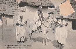 HAUTE  GUINEE       Chef De Toumanéa   PLAN 1900    RARE - Guinée Française