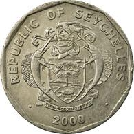 Monnaie, Seychelles, 5 Rupees, 2000, British Royal Mint, TTB, Copper-nickel - Seychelles