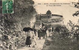 D06 NICE  Promenade Du Château Et Tour Bellanda - Monuments, édifices