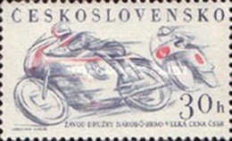 USED STAMPS Czechoslovakia - Sports Events Of -1961 - Czechoslovakia