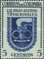 USED STAMPS Colombia - The 7th National Athletic Games -1954 - Colombia