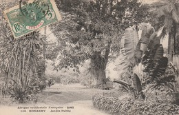 KONAKRY   GUINEE FRANCAISE    Jardin Public   PLAN 1907 PAS COURANT - Guinée Française