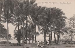 KONAKRY   GUINEE FRANCAISE    Entrée   ... Avec    Chariot Sur Rail - Guinée Française