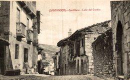SANTILLANA. CALLE DEL CANTON - Cantabria (Santander)