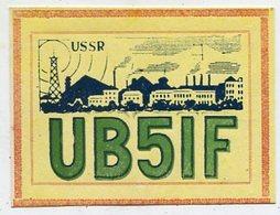 QSL Card - AK 346902 USSR - Ukraine - Donezk - Radio Amateur