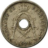 Monnaie, Belgique, 5 Centimes, 1920, TTB, Copper-nickel, KM:66 - 1909-1934: Albert I