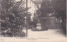 LE PUY  Pensionnat ND De France - Le Puy En Velay
