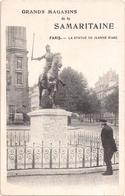 Grand Magasin De La Samaritaine Paris Statue Jeanne D'Arc - Magasins