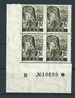 Saar MiNr. 211 X BZN **  Bogenecke  (sab57) - Unused Stamps