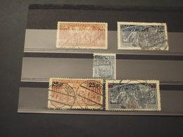 POLONIA - 1933/4 SCULORE 2+3 VALORI - TIMBRATI/USED - 1919-1939 Republic