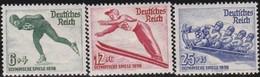 Deutsches Reich  .   Michel     .   600/602    .  *  .   Ungebraucht Mit Gummi Und Falz .   /  . Mint-hinged - Deutschland