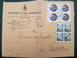 (26939) STORIA POSTALE ITALIA 1984 - 6. 1946-.. Repubblica