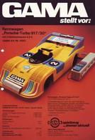 KAT248 Modellbau Infoblatt GAMA, Porsche Turbo 917/30, 70er-Jahre - Littérature & DVD