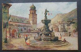 Cartolina Trento Piazza Del Duomo - Non Viaggiata - - Trento