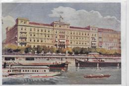 AK 0185  Grand Hotel Hungaria - Nagyszálloda Budapest Um 1927 - Ungarn
