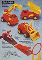 KAT250 Modellbau Infoblatt GAMA, Aktionsspielzeug, Deutsch, Neuwertig - Littérature & DVD