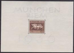 Deutsches Reich  .   Michel .  Block  4 (Marke: **)   .  * . Ungebraucht Mit Gummi Und Falz . / . Mint-hinged - Deutschland